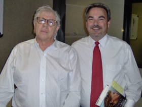 Paul with Carl Bernstein