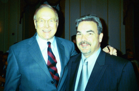 Paul with Dr. James Dobson