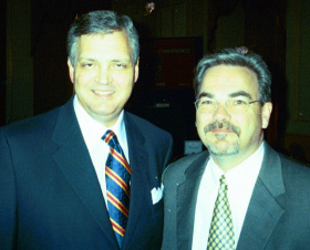Paul with Dr. Albert Mohler